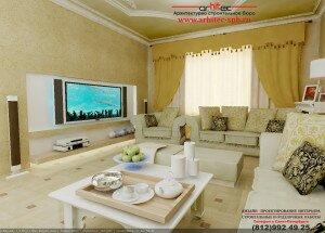 Дизайн интерьера квартиры в ЖК «Четыре горизонта»