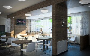 Дизайн интерьера кафе в СПб
