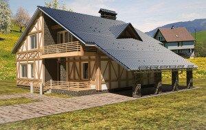 Элитный дизайн дома на Черной речке