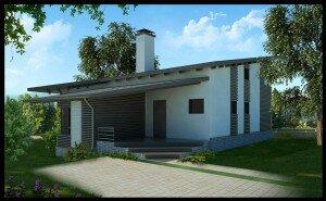 Элитный дизайн дома в Вартемягах