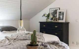 Белый комод в спальню