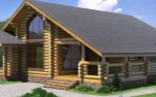 Одноэтажные бревенчатые дома преимущества и интересные проекты