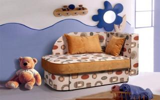 Выбираем детский выкатной диван