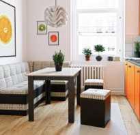 Диван в интерьере кухни как выбрать и где поставить?