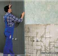 Как утеплить стену в ванной под плитку