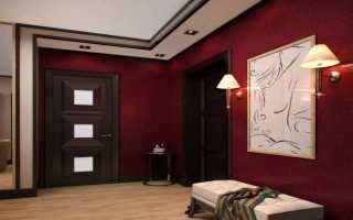 Межкомнатные двери цвета венге варианты оттенков в интерьере