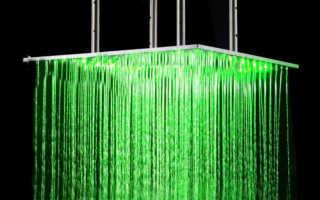 Тропический душ для ванной особенности плюсы и минусы