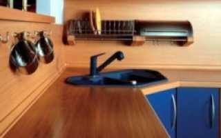 Замена столешницы для кухни пошаговая инструкция