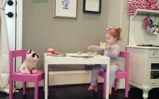 Детский стол Ikea качество и практичность