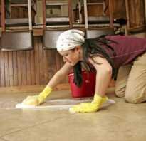 Зачистка швов керамической плитки