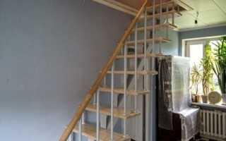 Лестницы на мансарду виды конструкций и варианты дизайна